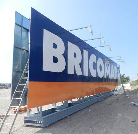 Monoposte Bricomart