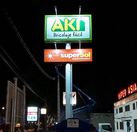 Monoposte Aki