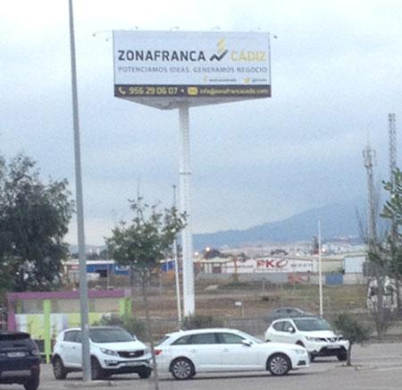 Monoposte Zona Franca